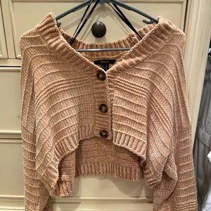 Forever 21 cropped sweater!!